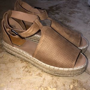 Bella Marie Platform Sandals
